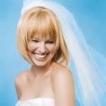 Bridal style for short hair